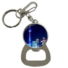 Shanghai Oriental Pearl Tv Tower Button Necklaces