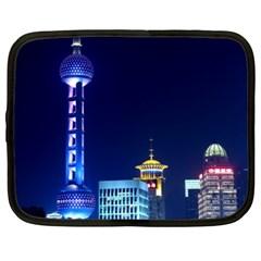 Shanghai Oriental Pearl Tv Tower Netbook Case (xl)