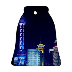 Shanghai Oriental Pearl Tv Tower Bell Ornament (two Sides)