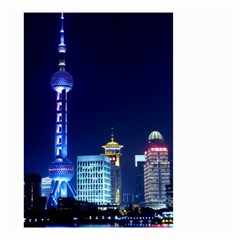 Shanghai Oriental Pearl Tv Tower Small Garden Flag (two Sides)