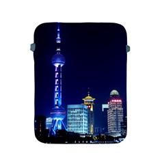 Shanghai Oriental Pearl Tv Tower Apple Ipad 2/3/4 Protective Soft Cases