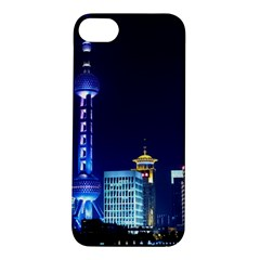 Shanghai Oriental Pearl Tv Tower Apple Iphone 5s/ Se Hardshell Case