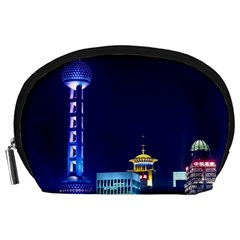 Shanghai Oriental Pearl Tv Tower Accessory Pouches (large)