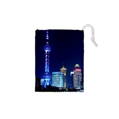 Shanghai Oriental Pearl Tv Tower Drawstring Pouches (xs)