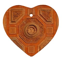Symbolism Paneling Oriental Ornament Pattern Ornament (heart)