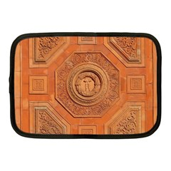 Symbolism Paneling Oriental Ornament Pattern Netbook Case (medium)