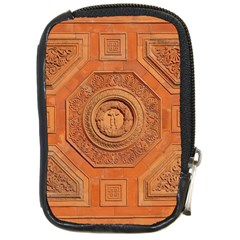 Symbolism Paneling Oriental Ornament Pattern Compact Camera Cases