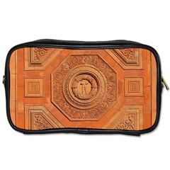 Symbolism Paneling Oriental Ornament Pattern Toiletries Bags