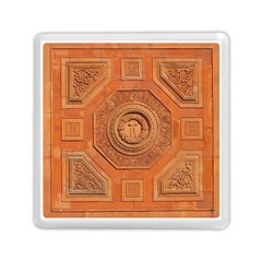 Symbolism Paneling Oriental Ornament Pattern Memory Card Reader (square)