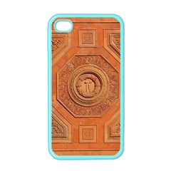Symbolism Paneling Oriental Ornament Pattern Apple Iphone 4 Case (color)
