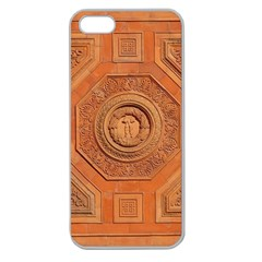 Symbolism Paneling Oriental Ornament Pattern Apple Seamless Iphone 5 Case (clear)