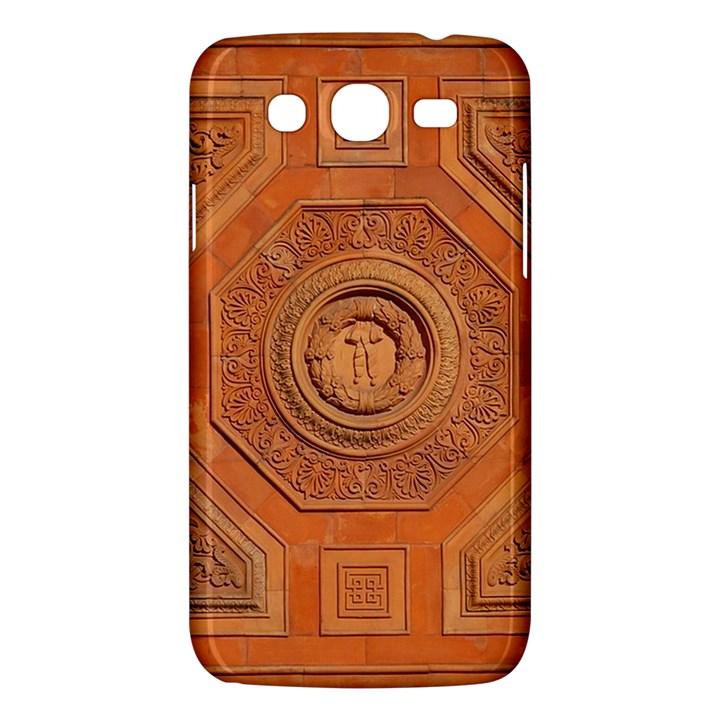 Symbolism Paneling Oriental Ornament Pattern Samsung Galaxy Mega 5.8 I9152 Hardshell Case