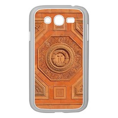 Symbolism Paneling Oriental Ornament Pattern Samsung Galaxy Grand Duos I9082 Case (white)