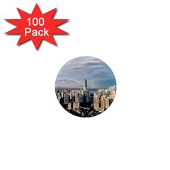 Shanghai The Window Sunny Days City 1  Mini Magnets (100 Pack)