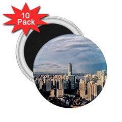 Shanghai The Window Sunny Days City 2 25  Magnets (10 Pack)