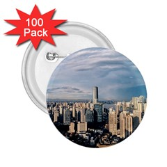 Shanghai The Window Sunny Days City 2 25  Buttons (100 Pack)