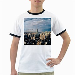 Shanghai The Window Sunny Days City Ringer T Shirts