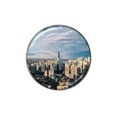 Shanghai The Window Sunny Days City Hat Clip Ball Marker (10 Pack)