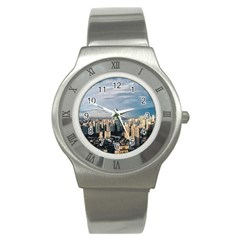 Shanghai The Window Sunny Days City Stainless Steel Watch