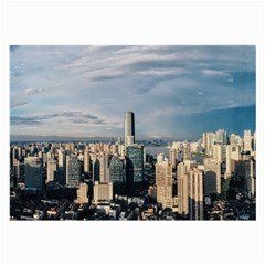 Shanghai The Window Sunny Days City Large Glasses Cloth