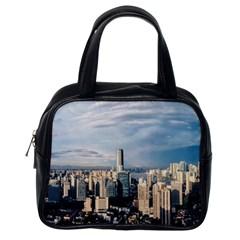 Shanghai The Window Sunny Days City Classic Handbags (one Side)