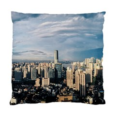 Shanghai The Window Sunny Days City Standard Cushion Case (two Sides)