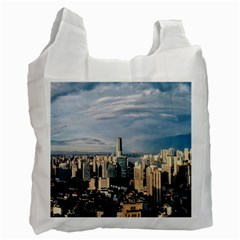 Shanghai The Window Sunny Days City Recycle Bag (two Side)