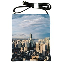 Shanghai The Window Sunny Days City Shoulder Sling Bags