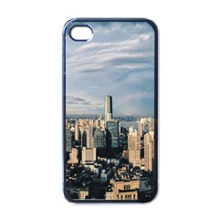 Shanghai The Window Sunny Days City Apple Iphone 4 Case (black)