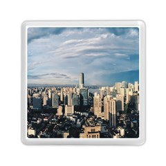 Shanghai The Window Sunny Days City Memory Card Reader (square)