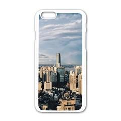 Shanghai The Window Sunny Days City Apple Iphone 6/6s White Enamel Case