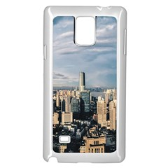 Shanghai The Window Sunny Days City Samsung Galaxy Note 4 Case (white)