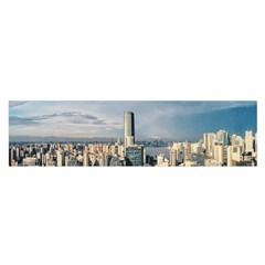 Shanghai The Window Sunny Days City Satin Scarf (oblong)