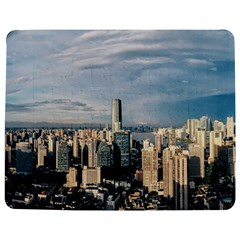 Shanghai The Window Sunny Days City Jigsaw Puzzle Photo Stand (rectangular)