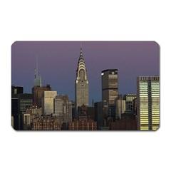 Skyline City Manhattan New York Magnet (rectangular)