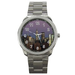 Skyline City Manhattan New York Sport Metal Watch