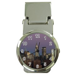 Skyline City Manhattan New York Money Clip Watches