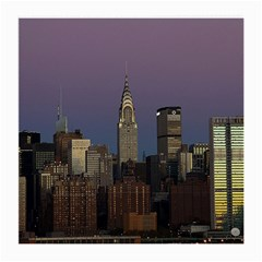 Skyline City Manhattan New York Medium Glasses Cloth (2 Side)