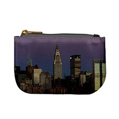 Skyline City Manhattan New York Mini Coin Purses