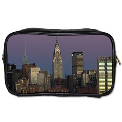 Skyline City Manhattan New York Toiletries Bags 2 Side
