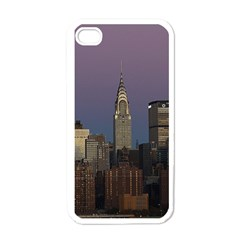 Skyline City Manhattan New York Apple Iphone 4 Case (white)