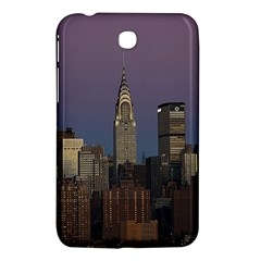 Skyline City Manhattan New York Samsung Galaxy Tab 3 (7 ) P3200 Hardshell Case
