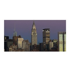 Skyline City Manhattan New York Satin Wrap