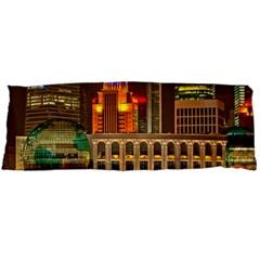 Shanghai Skyline Architecture Body Pillow Case Dakimakura (two Sides)