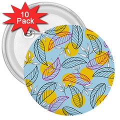 Playful Mood I 3  Buttons (10 Pack)