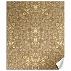 Ornate Golden Baroque Design Canvas 20  X 24