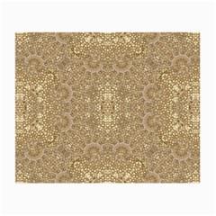 Ornate Golden Baroque Design Small Glasses Cloth (2 Side)