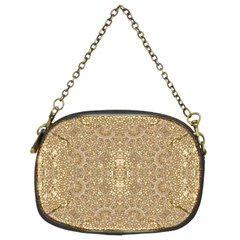 Ornate Golden Baroque Design Chain Purses (two Sides)