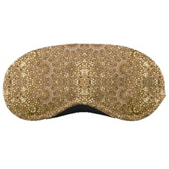Ornate Golden Baroque Design Sleeping Masks