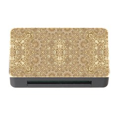 Ornate Golden Baroque Design Memory Card Reader With Cf
